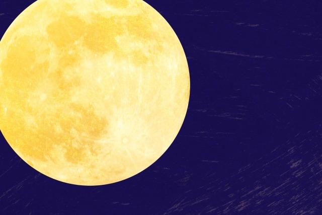 太陰暦の月のイメージ