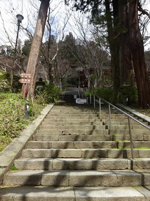 談山神社の石段140段