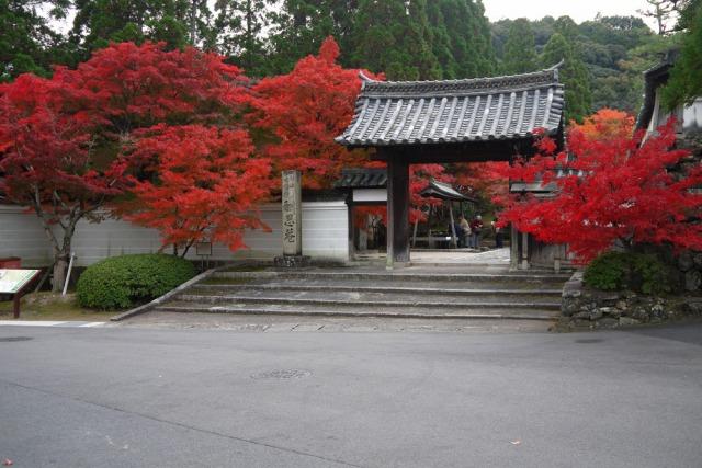 一休寺の門