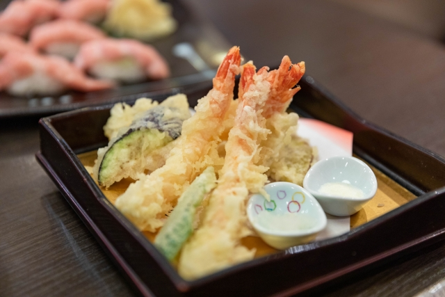 海老の天ぷら味