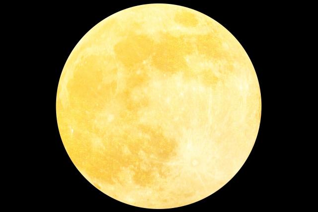 月見のスーパームーン