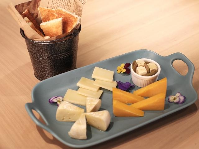 チーズがたくさん