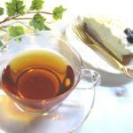 紅茶チーズケーキ