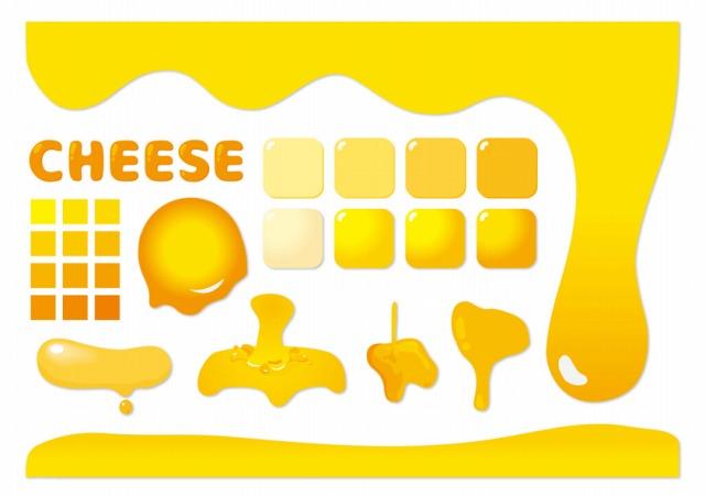 チーズのイラストサムネイル