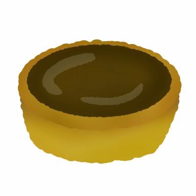チョコタルトのイメージ